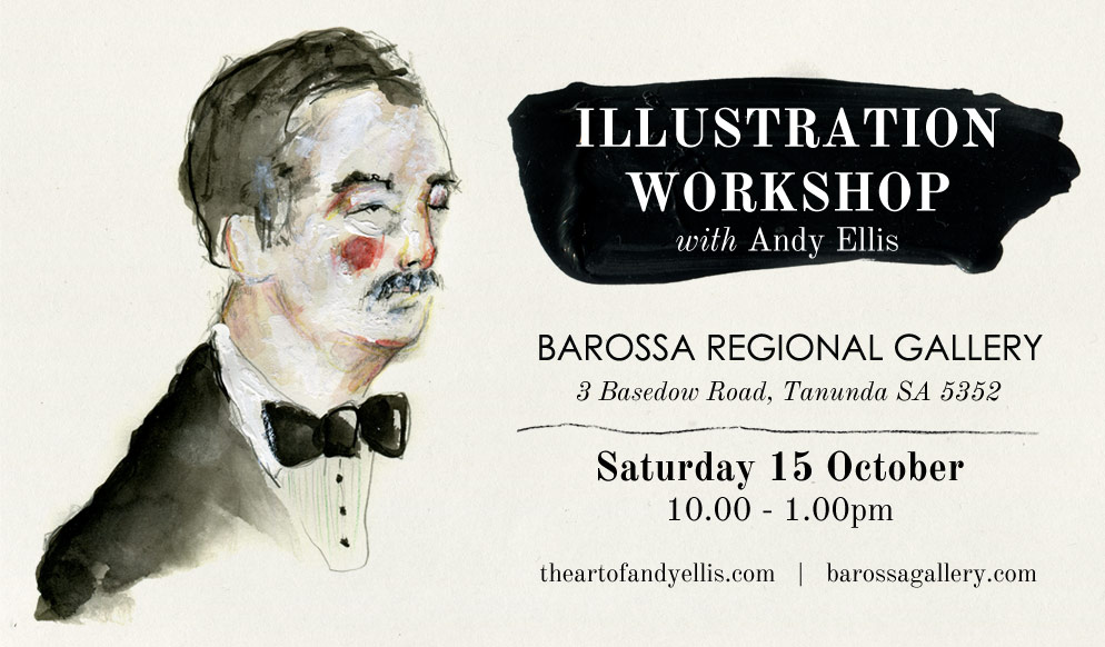 Illustration Workshop with Andy Ellis